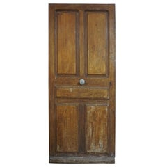 Antique French Door with Central Knob