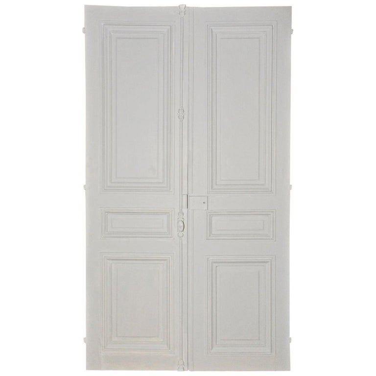 Antique French Double Interior Doors For Sale