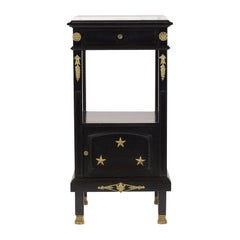 Antique French Empire Style Nightstand