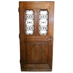 Antique French Entry Door, circa 1890