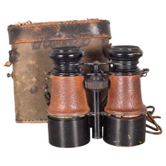 Antique French Expandable Field Binoculars, circa 1880s