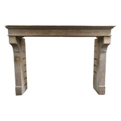 Antique French Farmhouse Mantel