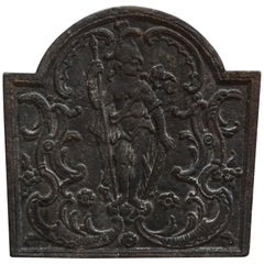 Antique French Fireback