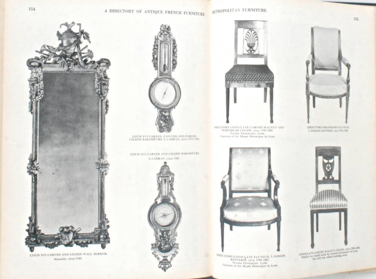 American Antique French Furniture by F. Lewis Hinckley, First Edition For Sale