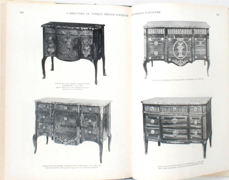 Antique French Furniture by F. Lewis Hinckley, First Edition In Good Condition For Sale In valatie, NY