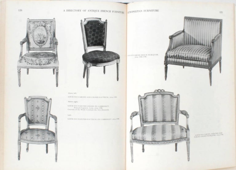 20th Century Antique French Furniture by F. Lewis Hinckley, First Edition For Sale