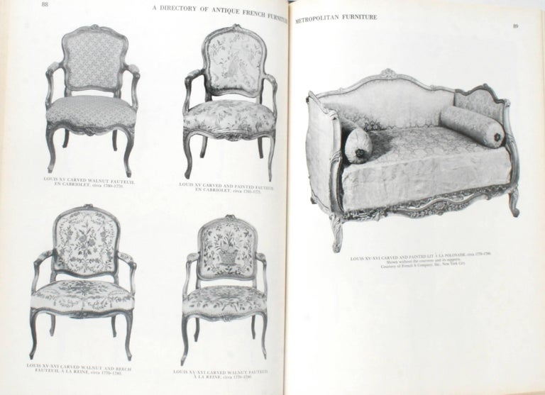 Antique French Furniture by F. Lewis Hinckley, First Edition For Sale 2