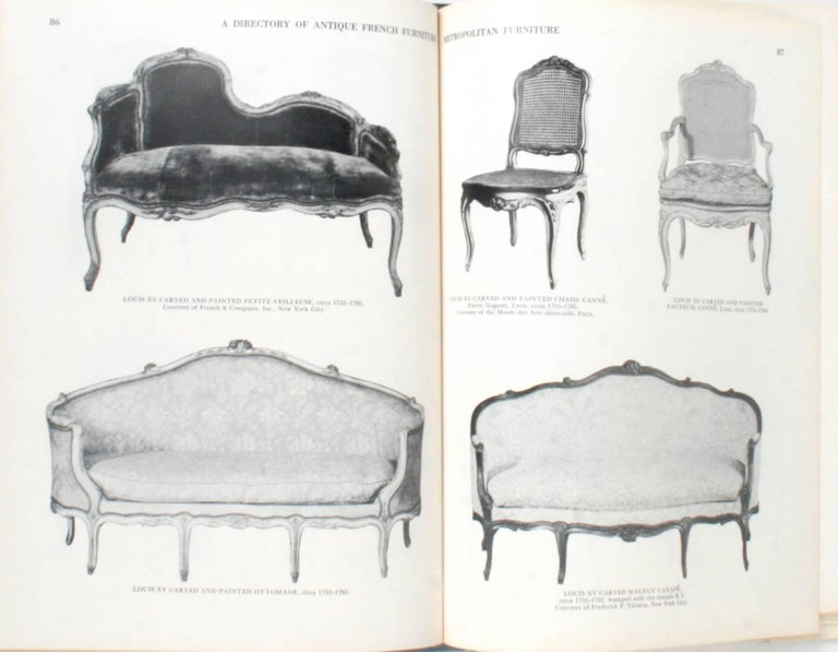 Antique French Furniture by F. Lewis Hinckley, First Edition For Sale 3