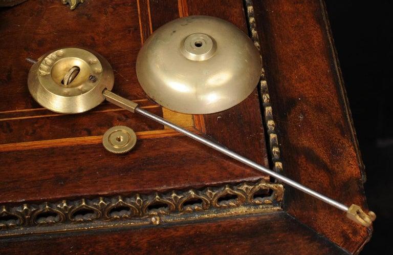 Antique French Gilt Bronze Rococo Clock 12