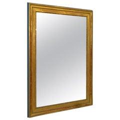 Antique French Gilt Mantlepiece Mirror