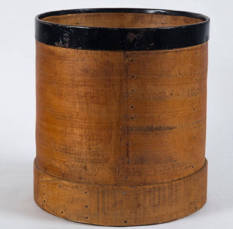 Antique French Grain Measure, Early 20th Century In Good Condition For Sale In Chappaqua, NY