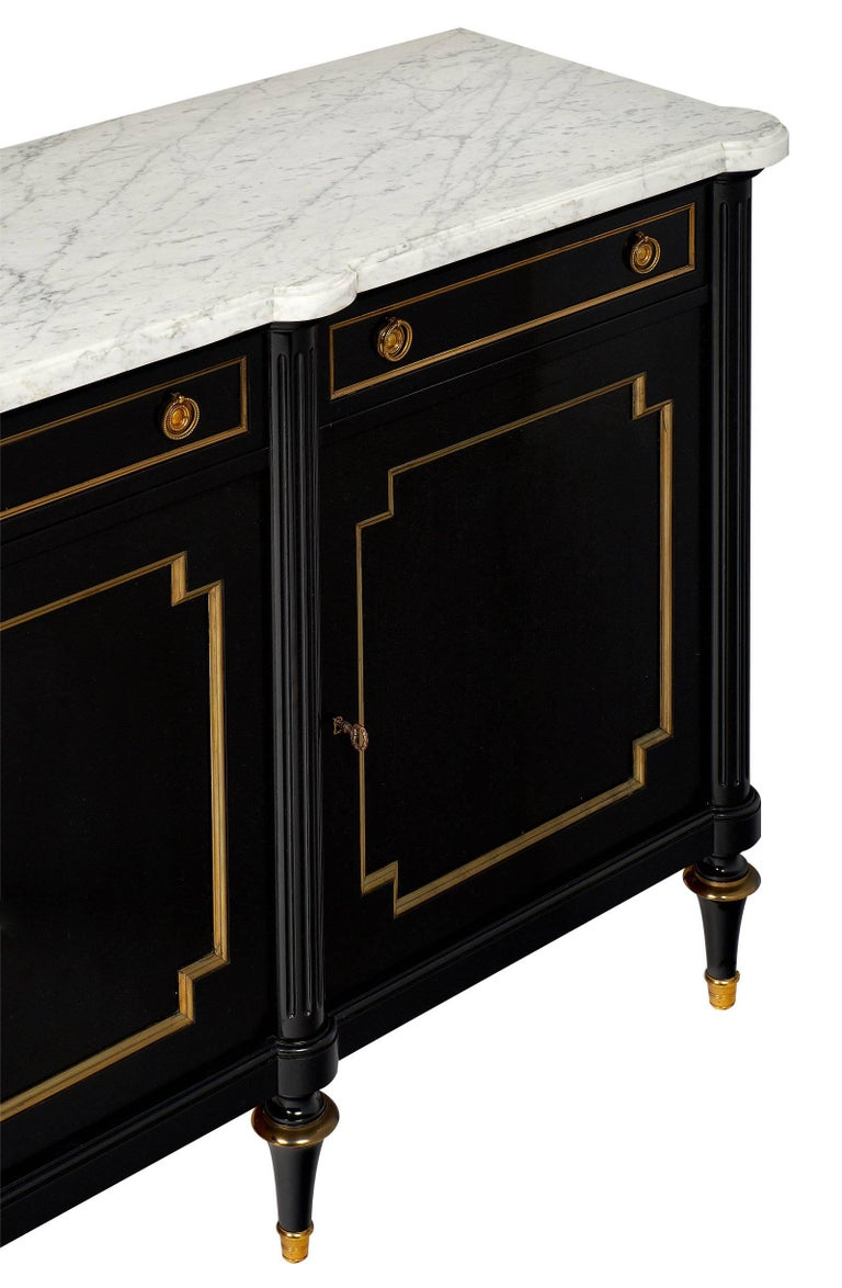 Antique French Grand Buffet Enfilade at 1stdibs