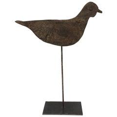 Antique French Handmade Bird Decoy