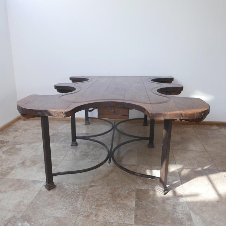 Antique French Jewellers Table For Sale 7