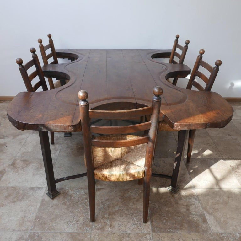 Antique French Jewellers Table In Good Condition For Sale In Surbiton, Surrey
