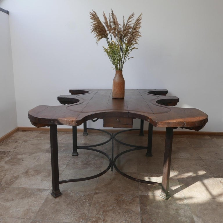 Antique French Jewellers Table For Sale 1