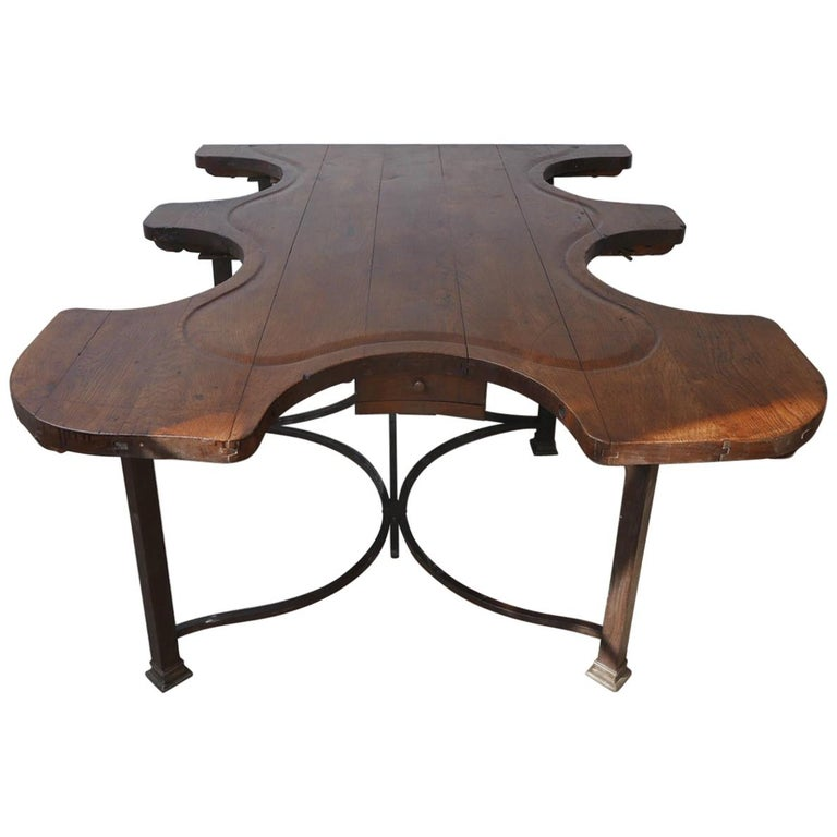 Antique French Jewellers Table For Sale