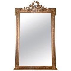 Antique French Louis 16th Mirror, circa 1880
