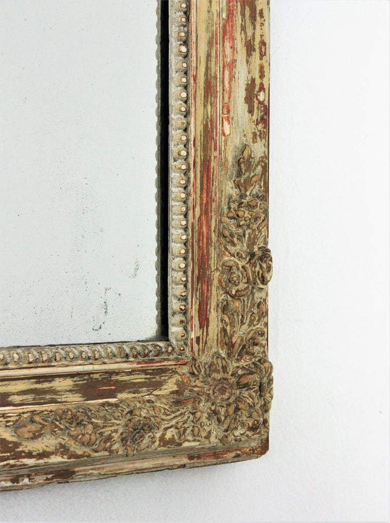 Antique French Louis Philippe Mirror For Sale 4