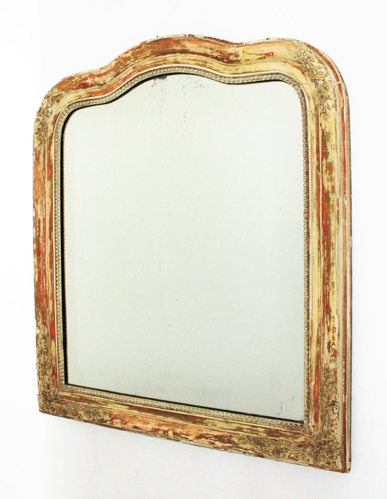 Antique French Louis Philippe Mirror For Sale 6