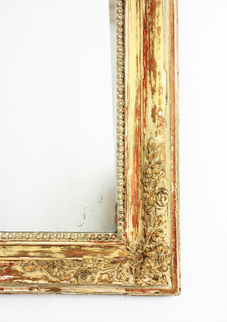 Antique French Louis Philippe Mirror For Sale 1