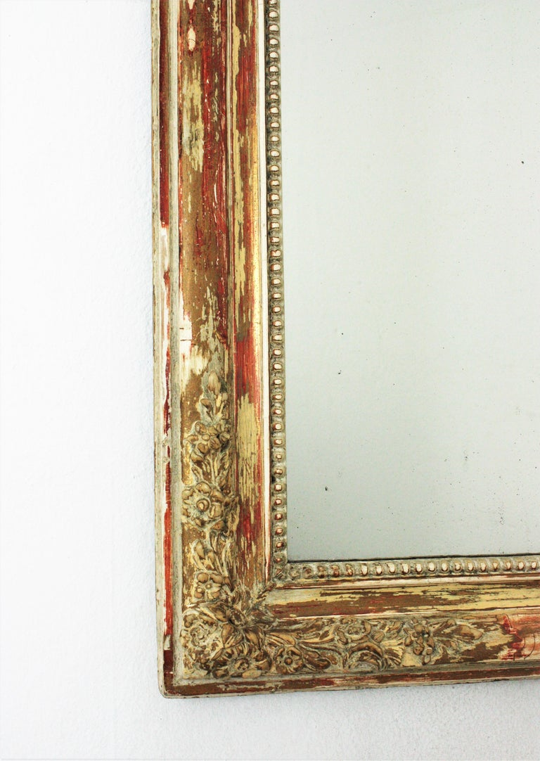Antique French Louis Philippe Mirror For Sale 3