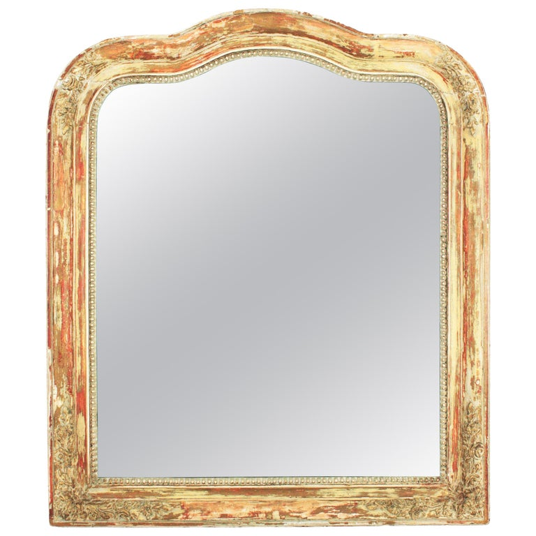 Antique French Louis Philippe Mirror For Sale