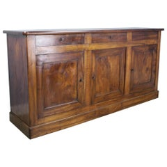 Antique French Louis Philippe Walnut Enfilade