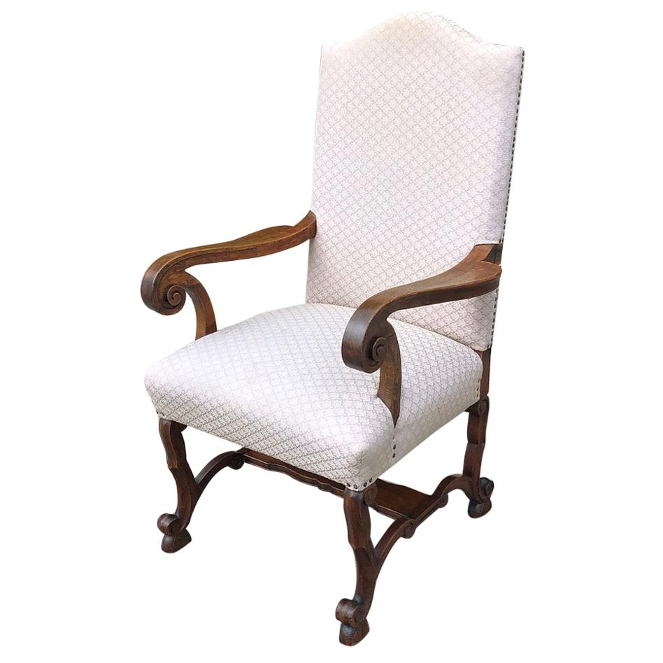 Antique French Louis XIV Armchair
