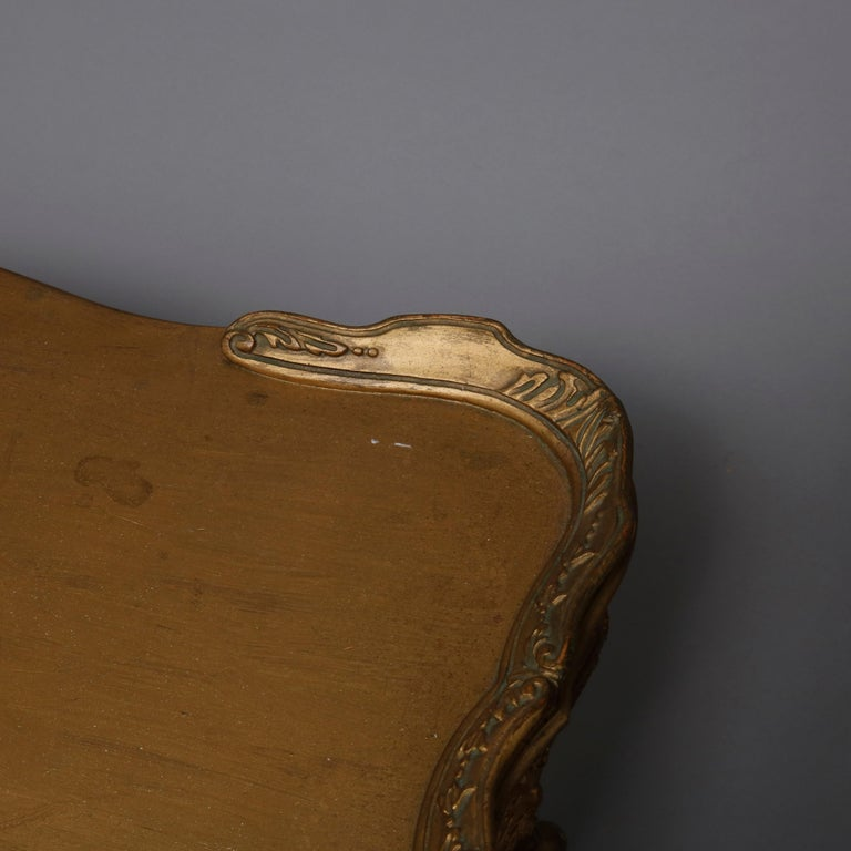 Antique French Louis XIV Giltwood Tea Table, 20th Century For Sale 9
