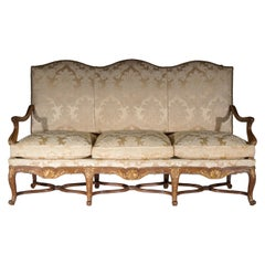 Antique French Louis XIV Style Sofa or Settee, 19th century
