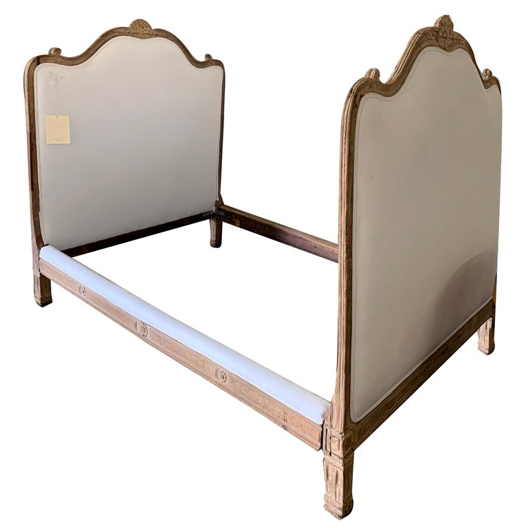 Antique French Louis XV Bed For Sale