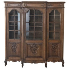 Antique French Louis XV Bookcase