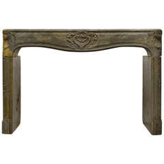 Antique French Louis XV Fireplace Mantel