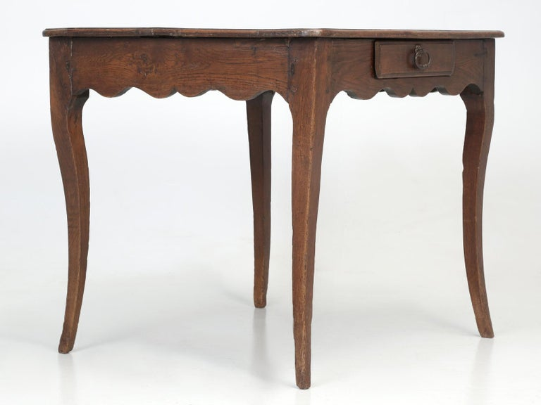Antique French Louis XV Style Ladies Writing Desk or Side or End Table For Sale 8