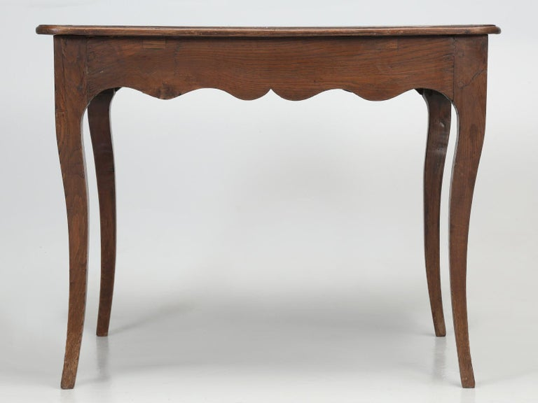 Antique French Louis XV Style Ladies Writing Desk or Side or End Table For Sale 11