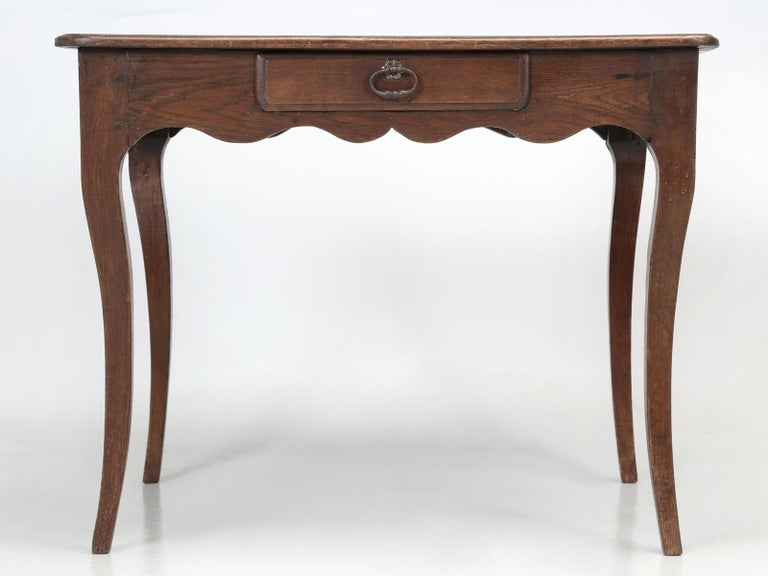 Antique French Louis XV Style Ladies Writing Desk or Side or End Table For Sale 3