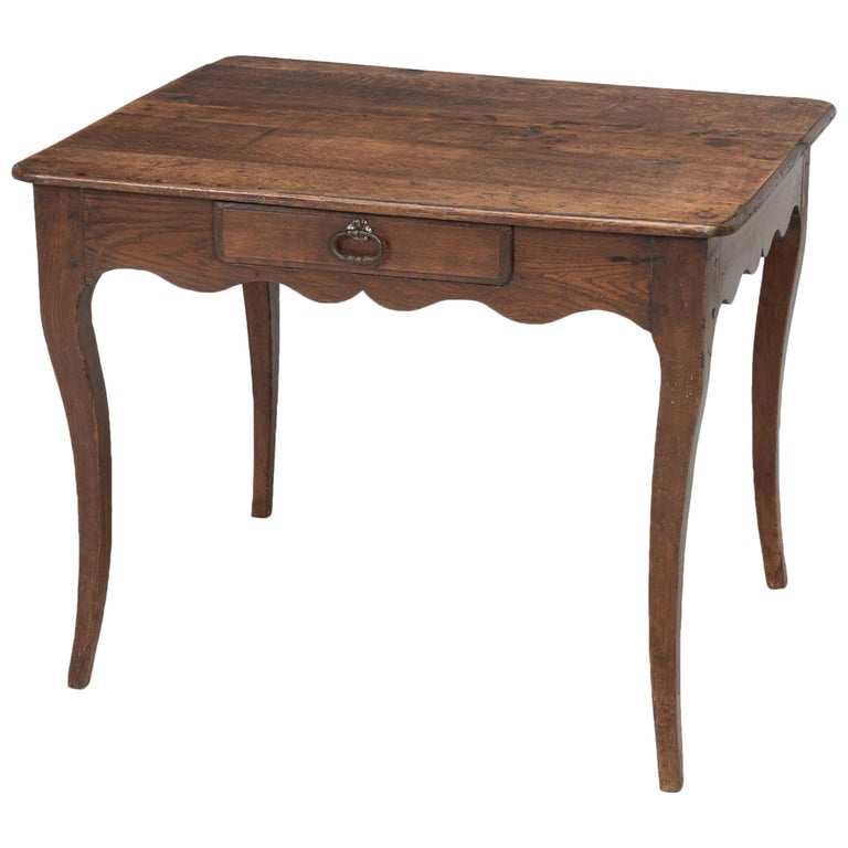 Antique French Louis XV Style Ladies Writing Desk or Side or End Table For Sale