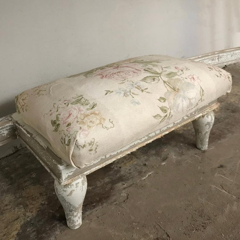 Antique French Louis XVI Painted Vanity For Sale 4