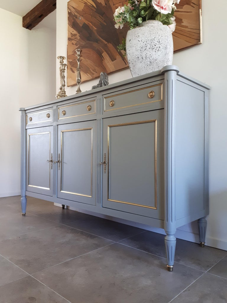 Antique French Louis XVI Style Buffet For Sale 7