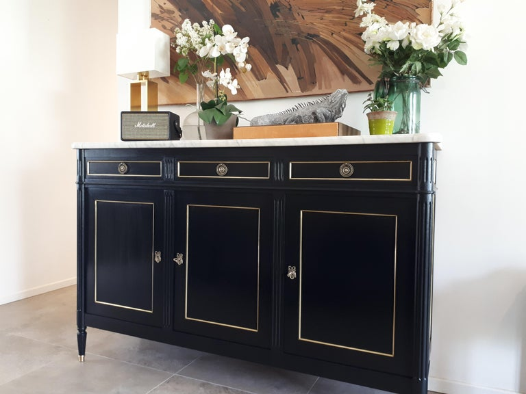 Antique French Louis XVI Style Buffet For Sale 8