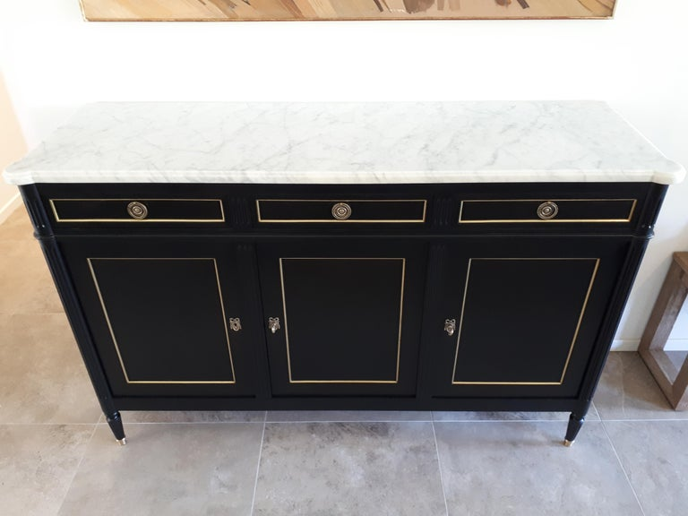 Antique French Louis XVI Style Buffet For Sale 1