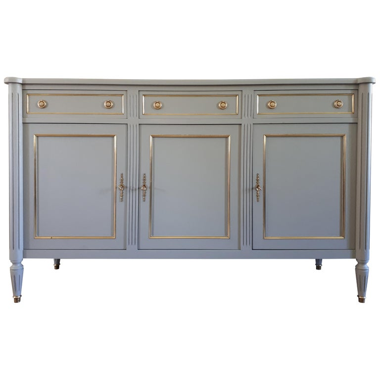 Antique French Louis XVI Style Buffet For Sale
