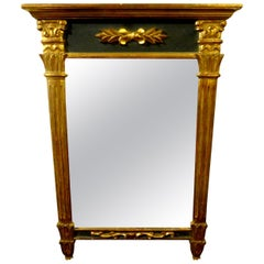 Antique French Louis XVI Style Giltwood Mirror