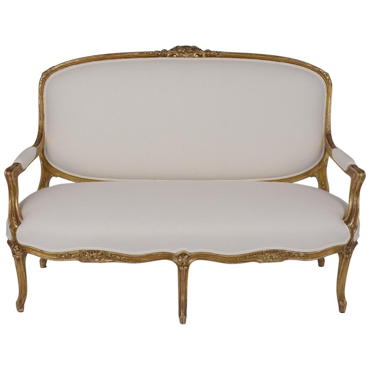 19th Century French Louis XVI Sofa