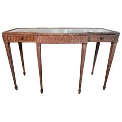 Antique French Louis XVI Style Neoclassical Console Table