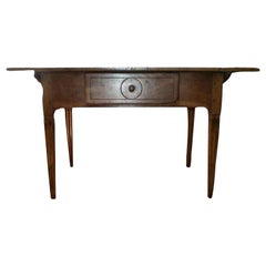 Antique French Louis XVI Style Walnut Cobbler's Table