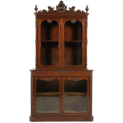 Antique French Mahogany Cabinet, circa 1840