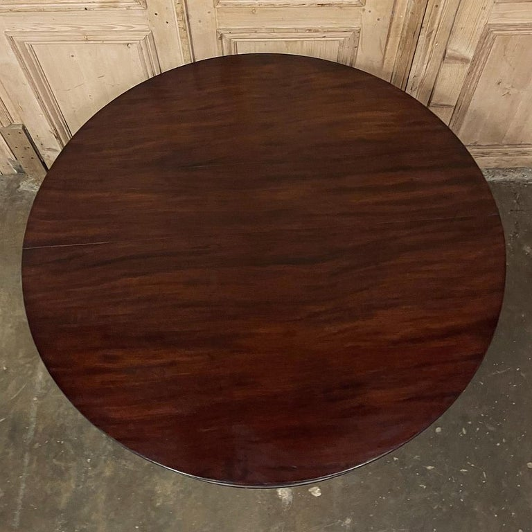 Napoleon III Period French Mahogany Empire Style Center Table For Sale 4
