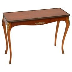 Antique French Mahogany Side Table